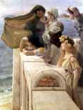 [Art Prints, Posters, Alma-Tadema - At Aphrodite's Cradle]