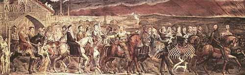 Image result for blake canterbury pilgrims