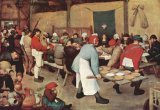[Bruegel - Peasant Wedding]