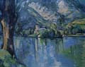[Cezanne - Lake at Annecy]