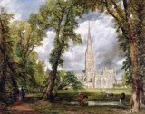[John Constable - Salisbury Cathedral from the Bishop's Ground]