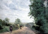 [Corot - Road to Sevres]