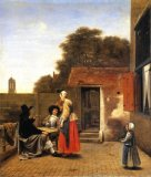 [De Hooch - Dutch Courtyard]