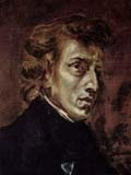 [Delacroix - Portrait of Frederic Chopin]