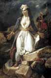 [Delacroix - Greece Expiring on the Ruins of Missolonghi]