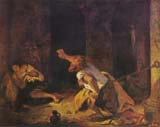 [Delacroix - The Prisoner of Chillon]
