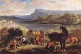 [Delacroix - Ovid Among the Scythians]