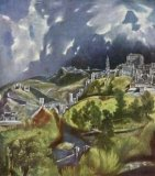 [El Greco - View of Toledo]