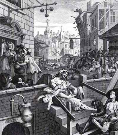william hogarths beer street and gin lane essay Essay on william hogarth's beer street and gin lane beer street and gin lane beer street and gin lane hogarth's one of the best known his satirical paintings.