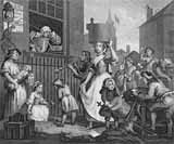 [Hogarth - The Enraged Musician]