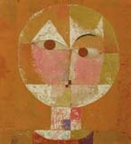 [Klee - Head of a Man (Senecio - Going Senile)]