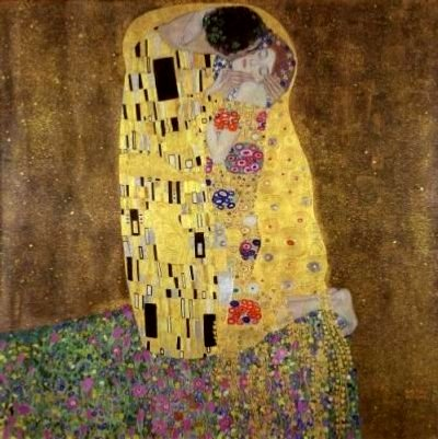 [Art Prints, as in, Ah... - as in, The Kiss, by Klimt]