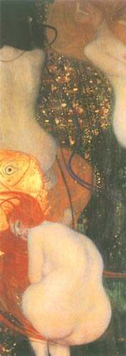 [Klimt Prints - Goldfish]