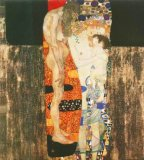 Klimt Prints - The Three Ages of Woman