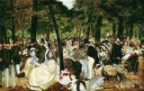 [Manet - Music at the Tuileries Garden]