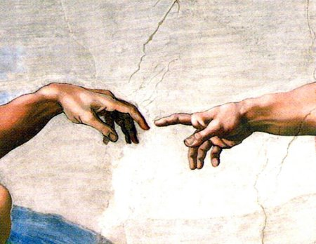 Michael Angelo S Creation Of Adam Painting