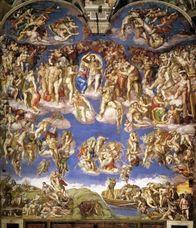an analysis of the paintings and works of art in the sistine chapel by buonarroti and michelangelo How to appreciate paintings genesis fresco, sistine chapel to the 33-year old michelangelo buonarroti the great works in the history of art.
