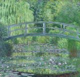 [Monet - Water-Lily Pond, Green Harmony]
