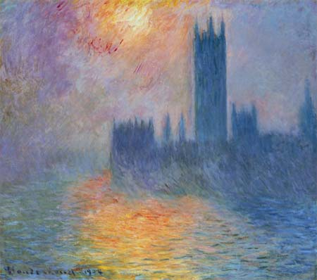 [Monet - The Houses of Parliament]