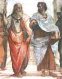 [Raphael - Plato and Aristotle from the School of Athens]