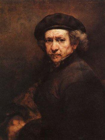 Resultado de imagem para rembrandt self portrait 1659