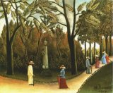 [Rousseau - Luxembourg Gardens, Monument to Chopin]