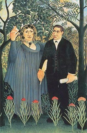 Rousseau Apollinaire And His Muse