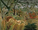 [Rousseau - Surprised! Storm in the Forest]