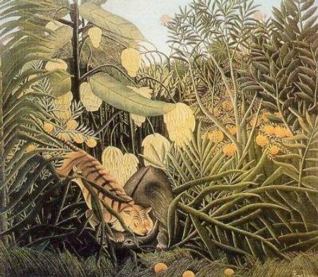 Rousseau Jungle Tiger