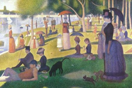 [Sunday Afternoon on the Island of La Grande Jatte - Seurat]