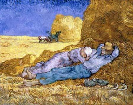 Van Gogh - The Siesta (aka Noon: Rest)