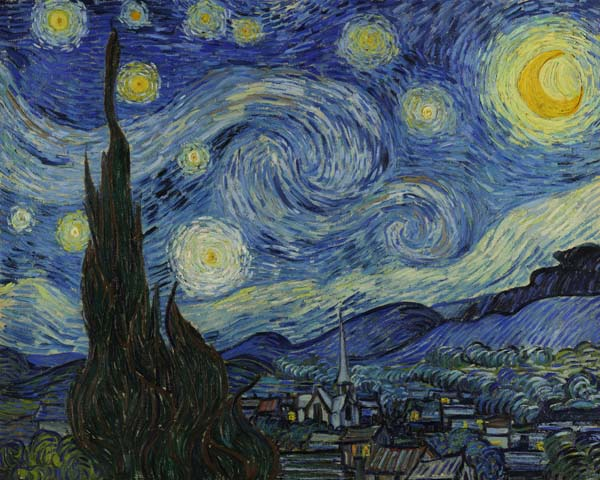 [Van Gogh Print - Starry Night