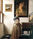 [Vermeer - Lady Standing at Virginal]