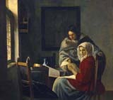 [Vermeer - Girl Interrupted at her Music]