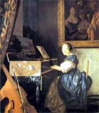 [Vermeer - Lady Seated at Virginal]