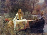 [Waterhouse - Lady of Shalott]