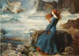 [Waterhouse - Miranda, The Tempest]